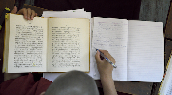 Tibetan, Tibetan language, Tibetan Nuns Project, Tibetan Buddhist nuns