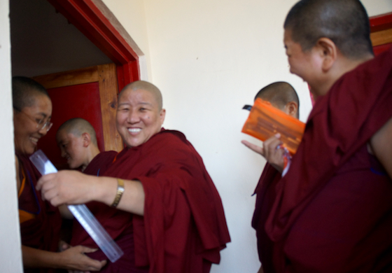 Geshema exams, Tibetan nuns, education for women