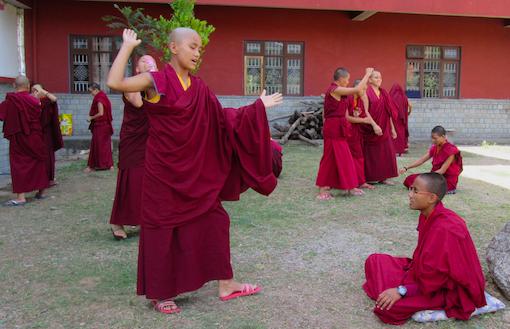 educating Tibetan Buddhist nuns, Tilokpur Nunnery, Education Tibetan Buddhist nuns