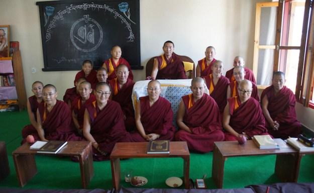tantric Buddhism, Tibetan nuns, Dolma Ling Nunnery,