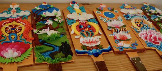 Tibetan Butter sculpture, Tibetan sacred arts, Tibetan ritual arts