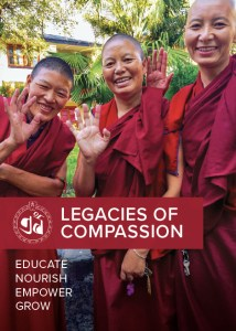 Tibetan Nuns Project Legacies of Compassion booklet front cover