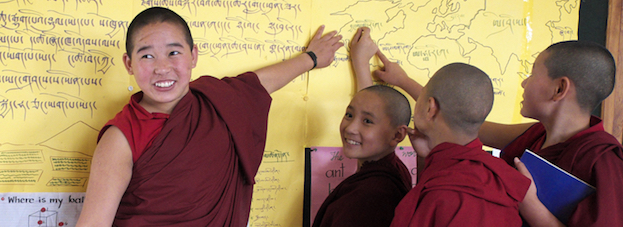 Tibetan Nuns Project, Buddhist nuns, sponsor a nun, nunnery, education for women