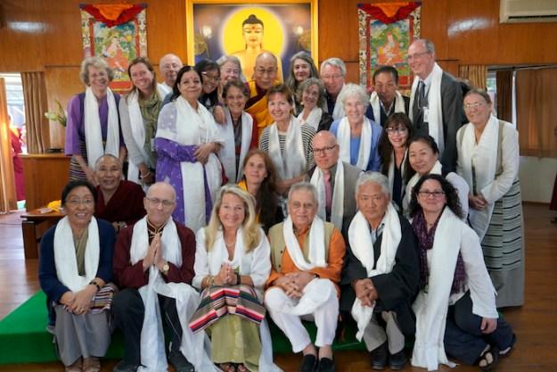 Tibetan Nuns Project, Dalai Lama, His Holiness the Dalai Lama, donors