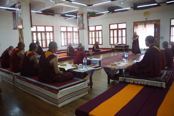 Geshema exams, Geshema exam results, 2018 Geshema exams, Tibetan Buddhist debate
