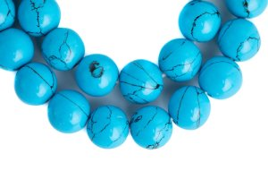 Turquoise Composite, mala, malas, Tibetan malas, Tibetan prayer beads,
