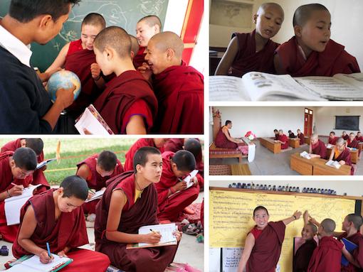 Education Tibetan Buddhist nuns, Tibetan Nuns, Tibetan Nuns Project, Tibetan education, Tibetan culture, what Tibetan Buddhist nuns learn, Tilokpur Nunnery