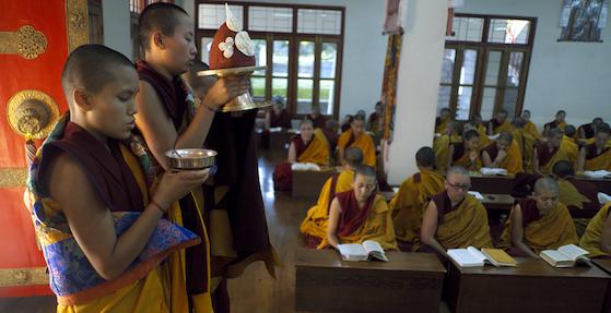 four schools of Tibetan Buddhism photo by Brian Harris