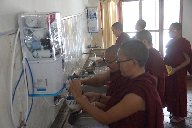 clean water project, Tibetan nuns, Dolma Ling