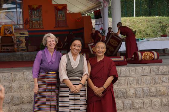 Venerable Lobsang Dechen, Betsy Napper, Rinchen Khando Choegyal, Tibetan Nuns Project