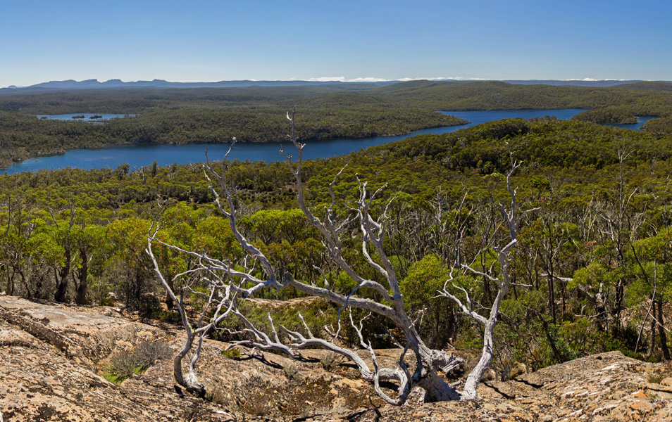 Lake Malbena, Walls of Jerusalem National Park. Photo: Lyndsey Evans