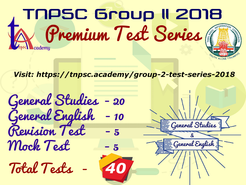 Group 2 Premium Test Series