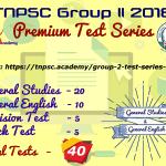 Group 2 Premium Test Series
