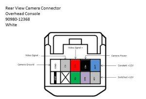 07 Tundra Installing rear view mirror backup monitor to
