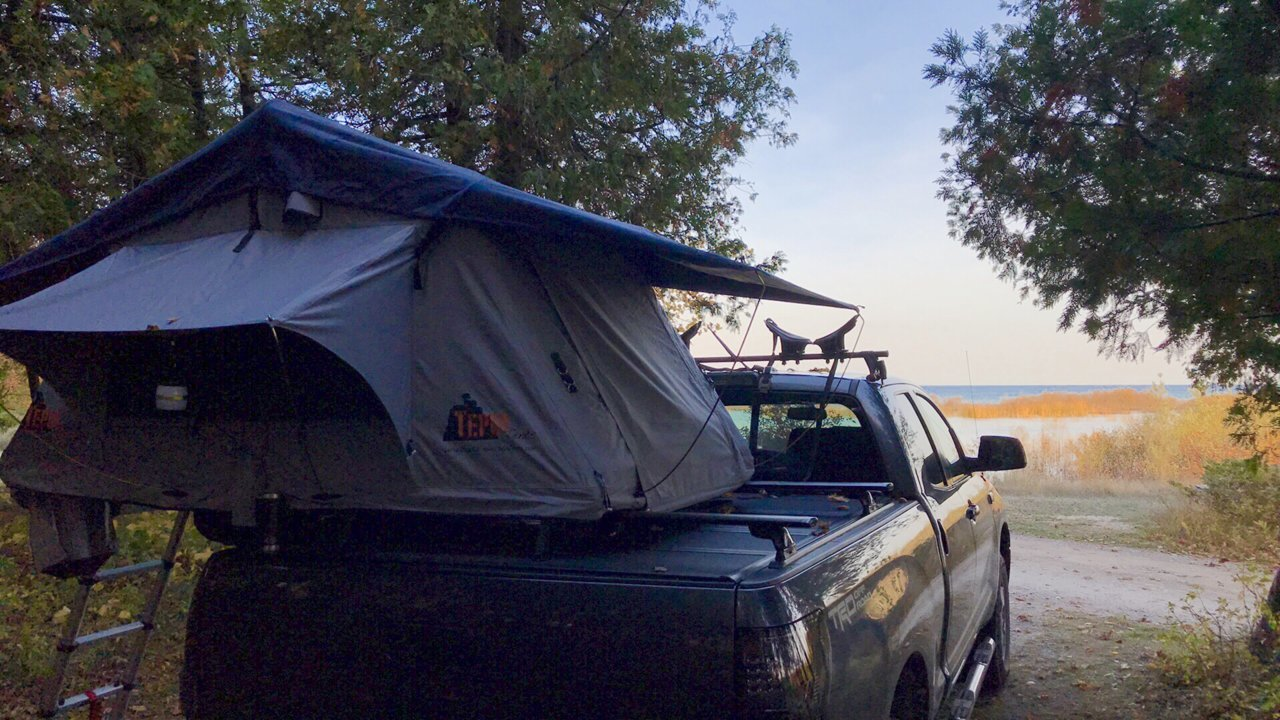 bed rack with tonneau cover toyota