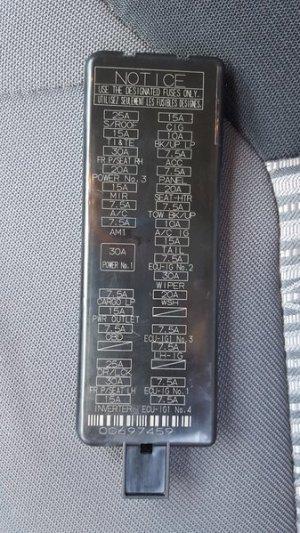 Interior Fuse Box Location and Information | Toyota Tundra