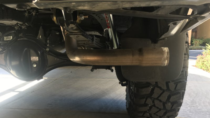 2015 toyota tundra stock exhaust tip