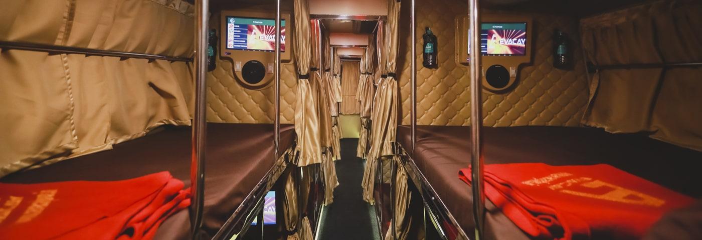 Evacay Bharat Benz AC Sleeper Chennai - Coimbatore Interior Pics