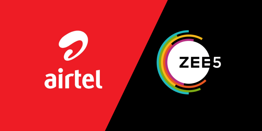 Airtel Launches 289 Recharge With Daily Data and Unlimited ZEE5 Premium Subscription