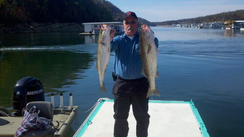Norris lake striper fishing Oct- 22 - 23. Fantastic weekend fishing trip with these guys