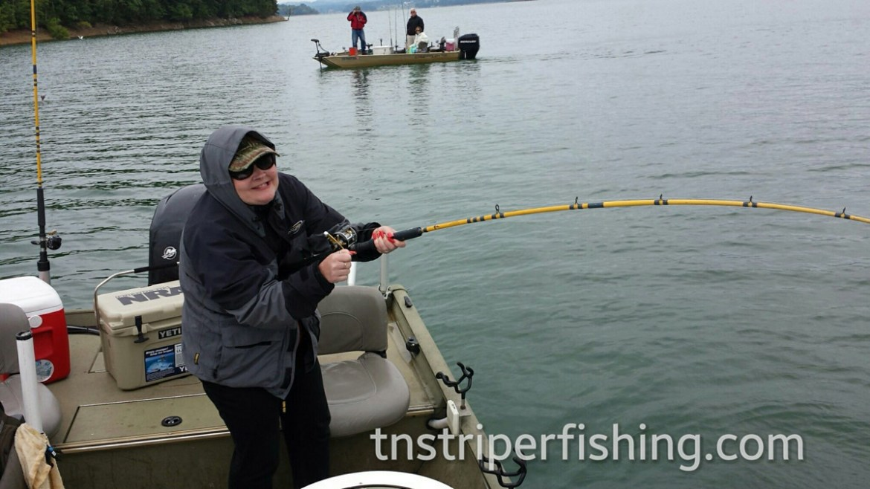 Charter Fishing Trip Tennessee Cherokee Lake Captin Jay