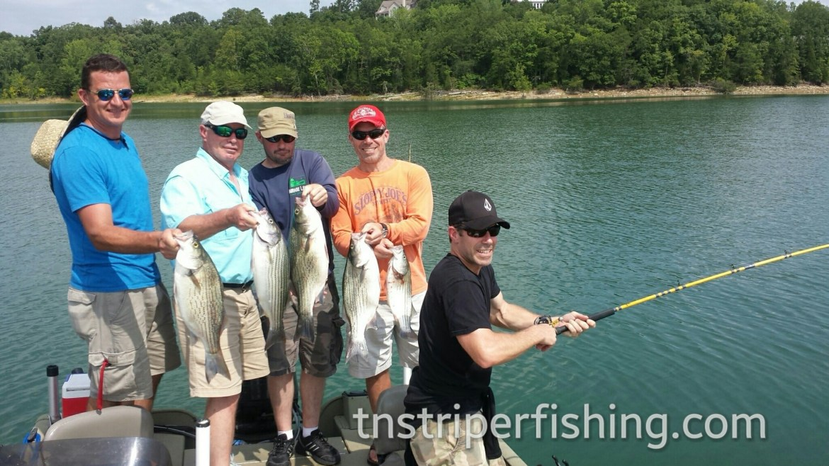 Capt'n Jay Fishing Tour Guide Boat Charter Tennessee