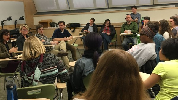 Ithaca College contingent and part-time faculty hold teach ...