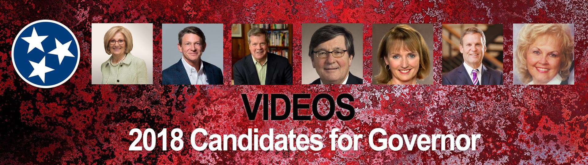 main gubernatorial video page: 2018 Tennessee Candidates for Governor