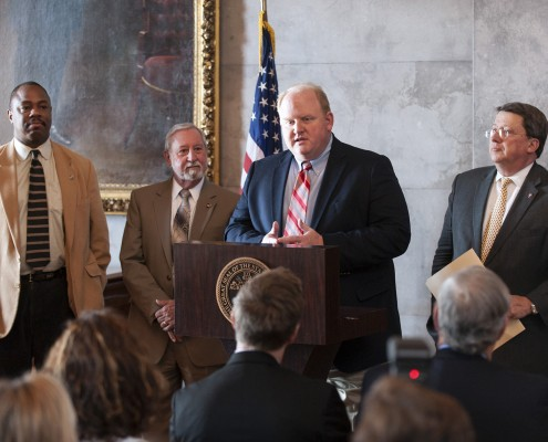 3/25/2014 Senator Mark Norris launches Tennessee Nutrition Caucu