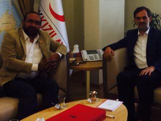 ED TNW Foundation meets DG Turkish Red Crescent
