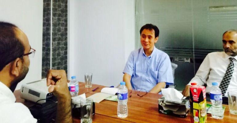 Mr. Hirotak Sekiguchi visited TNW Executive Director