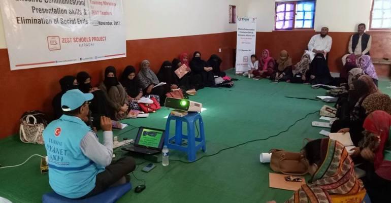 Teacher's Training under ZEST Program…