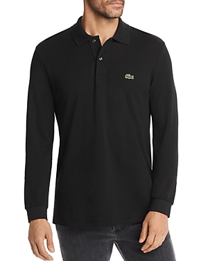 Lacoste Two Button Long Sleeve Polo Collared Shirt by Bloomingdale's.