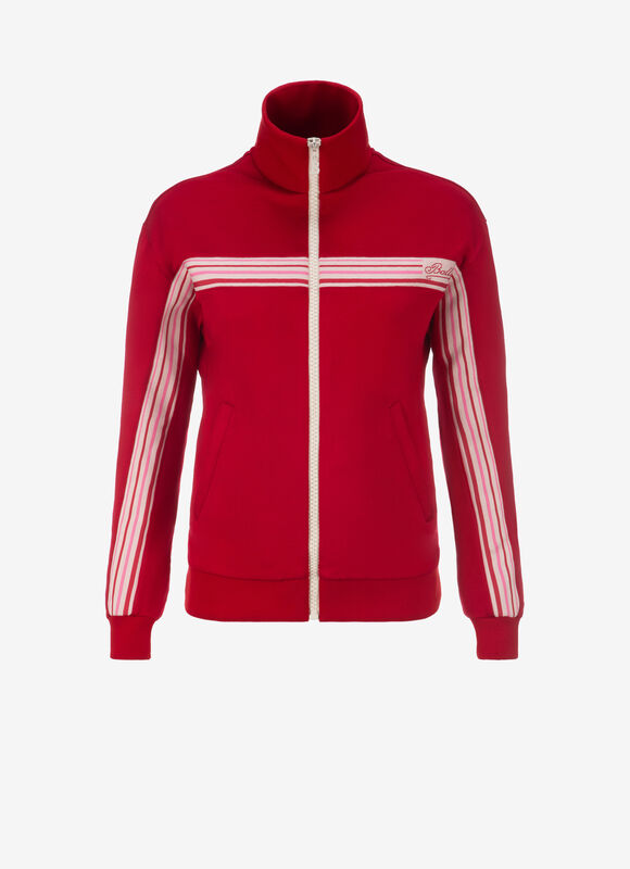 Bally Women's Red Track Suit Jacket.