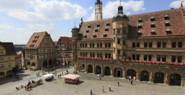 Town Hall of Rothenburg ob der Tauber Germany to-europe.com