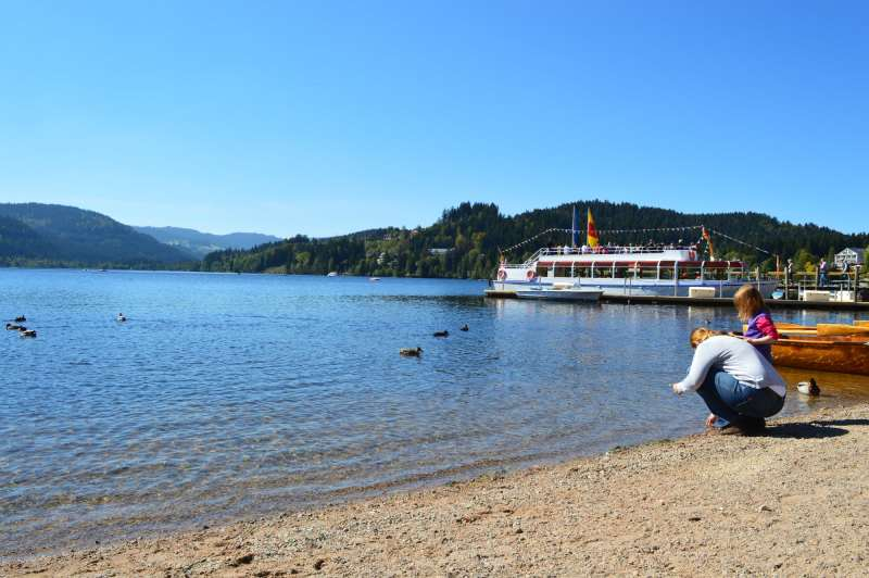 Lake Titisee in the Black Forest