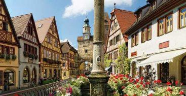 Rothenburg ob der Tauber Germany to-europe.com
