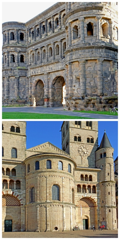 Historic Highlights Wine Rail Tour, Porta Nigra and Trier Cathedral in Trier Germany to-europe.com