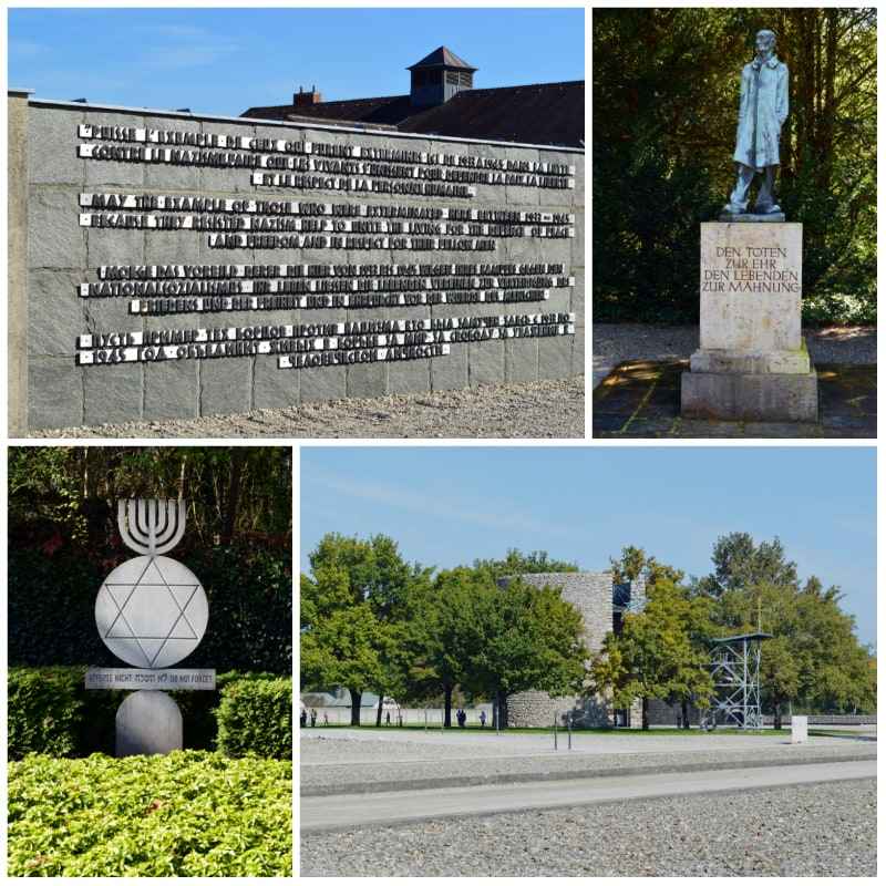 Dachau Memorial Site, Rememberance of the Dead