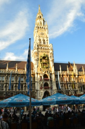 New Town Hall Munich Germany to europe to-europe.com