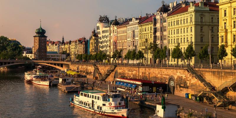 Luxury Central Europe Rail Circle Tour, Prague Czech Republic to-europe.com