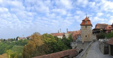 Rothenburg ob der Tauber Wall Germany to-europe.com