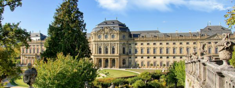 Bavaria Heidelberg Circle Car Tour, Wurzburg Residence Germany to-europe.com