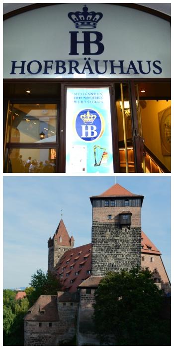 Munich, Innsbruck, Salzburg Rail Tour, Munich New Town Hall and Imperial Castle in Nuremberg Bavaria Germany