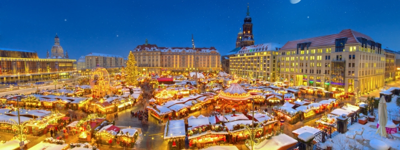 Christmas Market ( Striezelmarkt ) in Dresden Germany to-europe.com