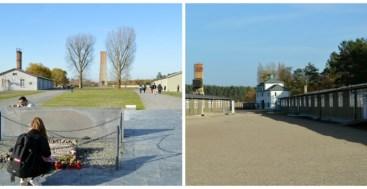 Courtyard Sachsenhausen Memorial