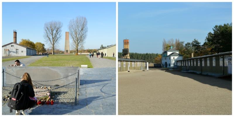 History Rail Tour Third Reich, Courtyard Sachsenhausen Memorial