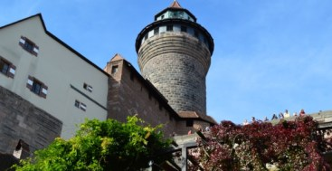 Sinwell Tower Imperial Castle Nuremberg Germany