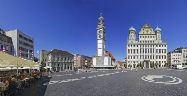 Augsburg Market Place Germany to-europe.com