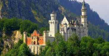 Neuschwanstein Castle Front
